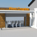 West Croydon Railway Station - artists' impression of re-development