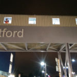 Dartford Railway Station Footbridge- work in progress