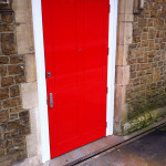Godalming Railway Station - new disabled toilet door