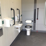 Godalming Railway Station - new disabled toilets