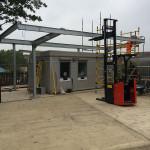 Kidbrooke Railway Station renovation - work in progress