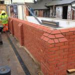 Heritage brickwork at Petersfield Railway Station