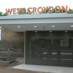 West Croydon Railway Station after re-development